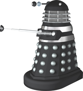 Dalek 5 from THE DALEK INVASION OF EARTH