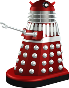 Dalek 42 from the film DALEKS' INVASION EARTH 2150A.D.