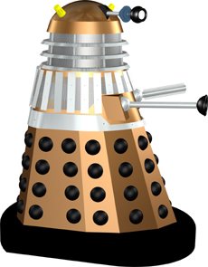 Dalek 43 from the film DALEKS' INVASION EARTH 2150A.D.